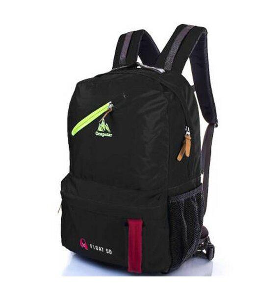 """Чоловічий рюкзак-""""рятувальний жилет"""" ONEPOLAR (ВАНПОЛАР) W2108-black"""