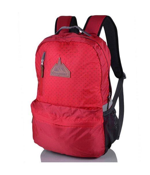Женский рюкзак с отделением для ноутбука ONEPOLAR (ВАНПОЛАР) W1766-red