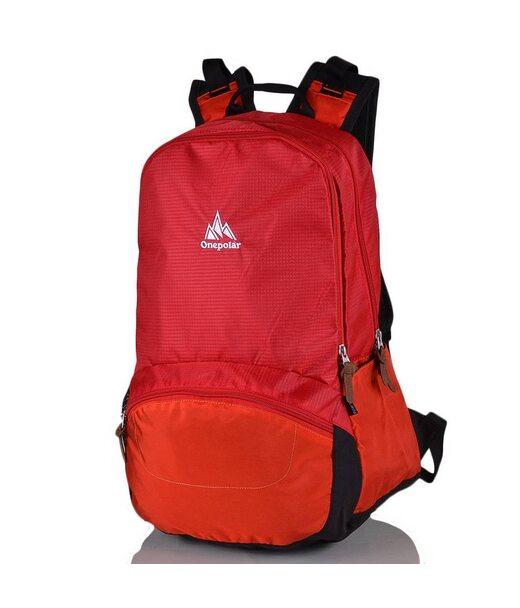 Женский рюкзак для ноутбука ONEPOLAR (ВАНПОЛАР) W1803-red