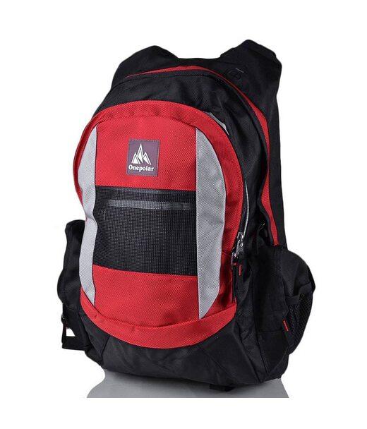 Чоловічий трекінговий рюкзак ONEPOLAR (ВАНПОЛАР) W918-red