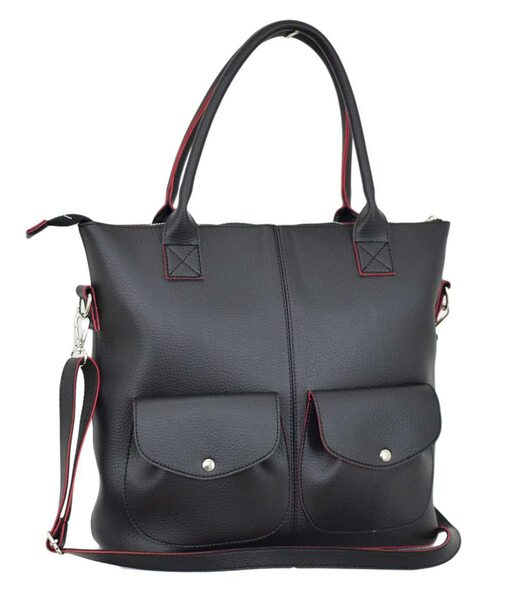 618  сумка черная чн Lucherino