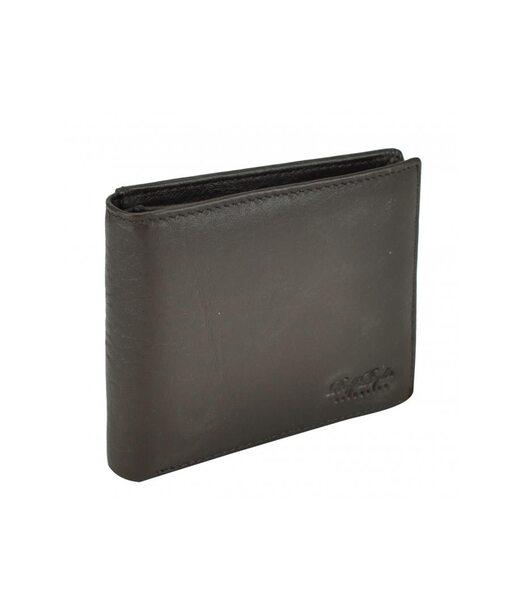 Коричневе шкіряне чоловіче портмоне Tiding Bag RE-00313W