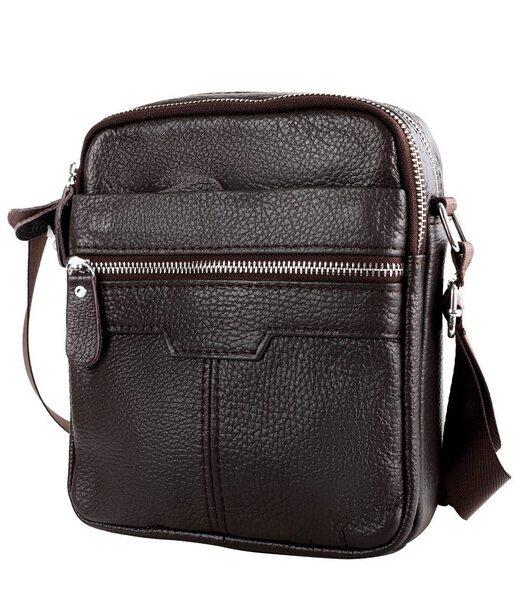 Кожаная мужская борсетка-сумка ETERNO (ЭТЭРНО) DET8016-10