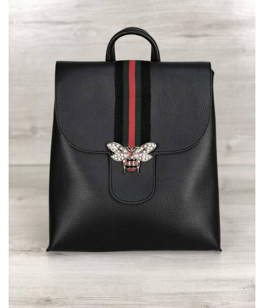Рюкзак молодіжний Барб чорного кольору (нікель) WeLassie