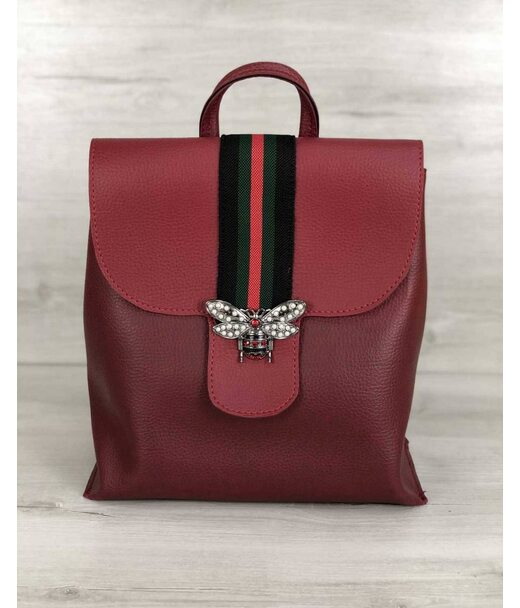 Рюкзак молодіжний Барб червоного кольору (нікель) WeLassie