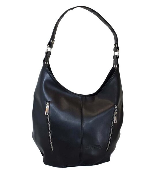 384 сумка черная г Lucherino