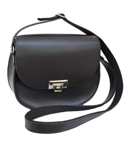 551 сумка шкіра чорна Lucherino
